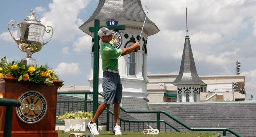 Jockey the Biggest Golf Nut at Kentucky Derby