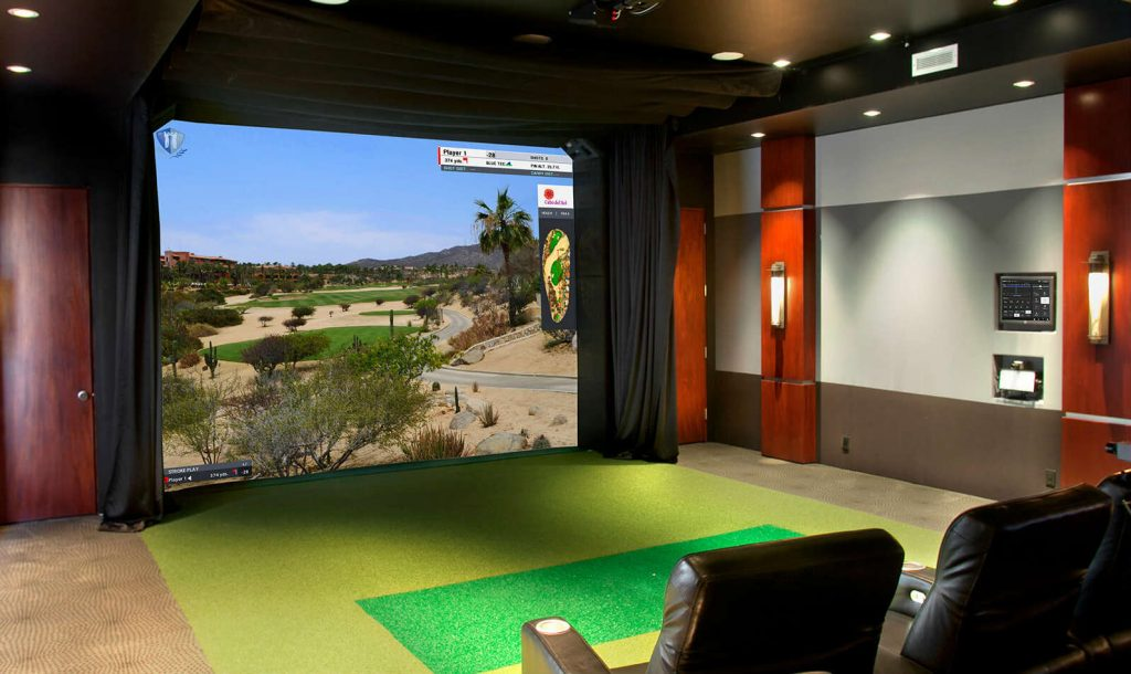 Golf Simulator For Sale >> 10 Expensive Golf Simulators Swingu Clubhouse