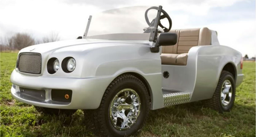 10 Expensive Luxury Golf Carts