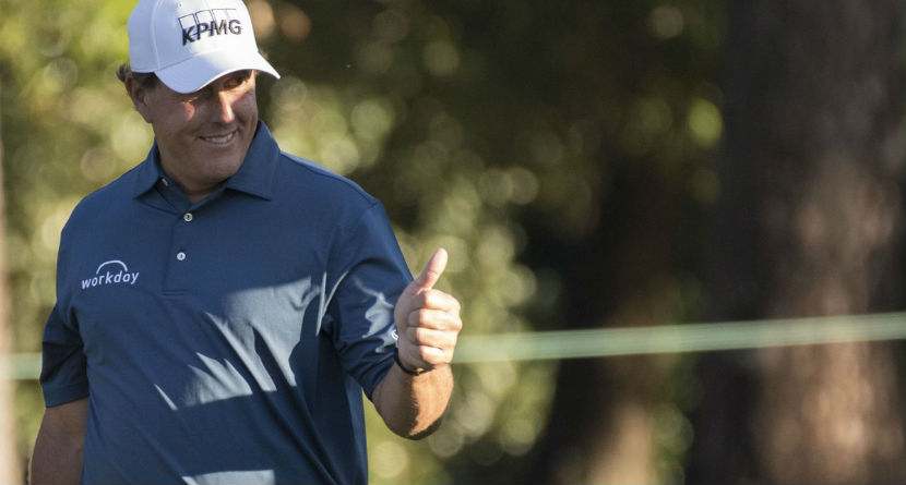 Tom Brady Gives Phil Mickelson Swing Advice