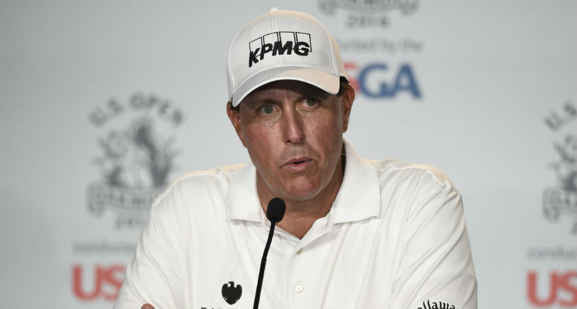 Phil Talks U.S. Open, Takes Shot at USGA