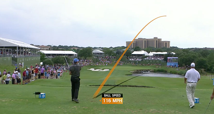 Barnes Hits Majestic Protracer Shank at the Nelson