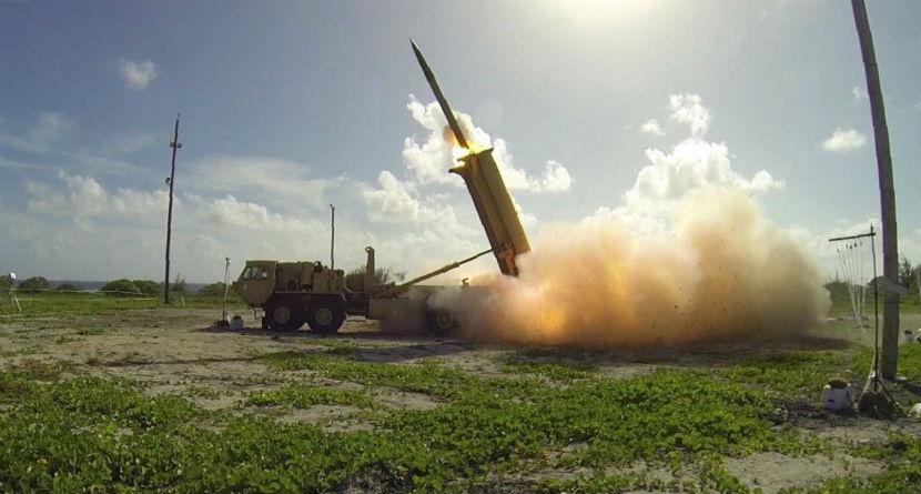 Missile Defense Built on South Korean Golf Course
