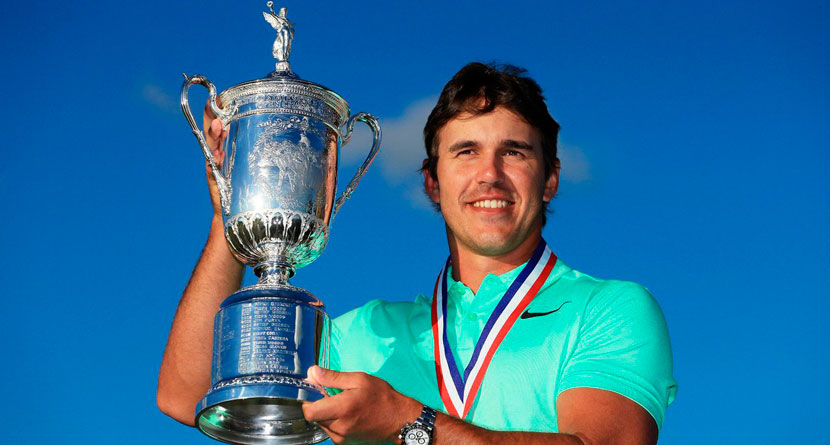 Brooks Koepka Has Crazy U.S. Open Celebration