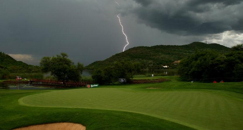 English Golfer Struck, Killed by Lightning