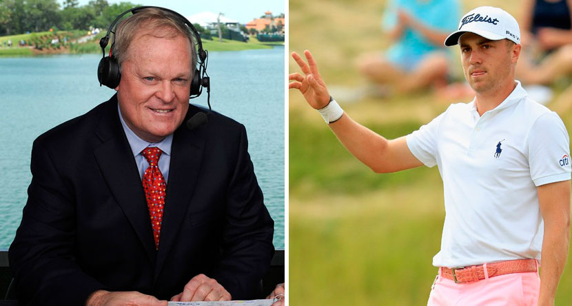 Johnny Miller Discredits Justin Thomas' 63