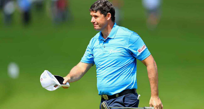 Harrington Suffers Freak Injury, Forced to WD