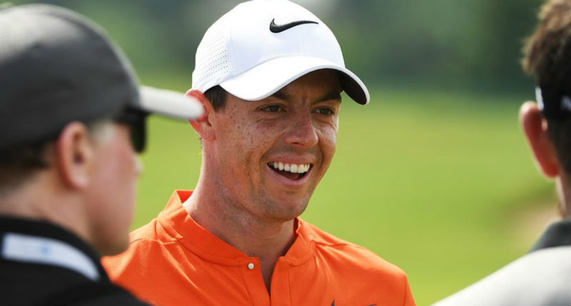 "Rory Accused of Being ""Bored""; Fires Back on Twitter"