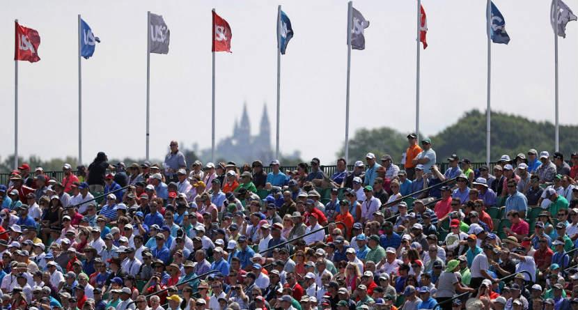 Spectator Attending U.S. Open Dies