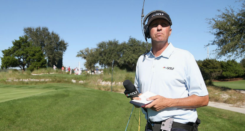 Phil's Longtime Ex-Caddie Signs With NBC Sports