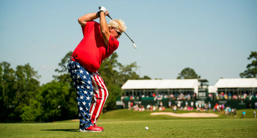John Daly Visits President Trump at White House