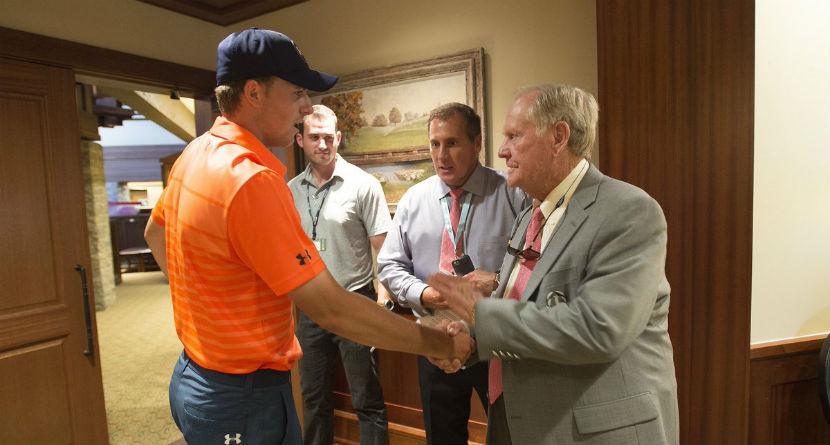Nicklaus Praises Jordan Spieth's Open Win