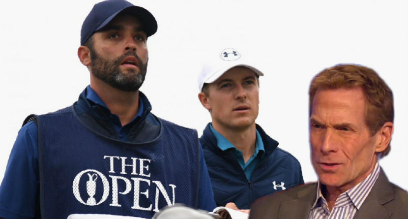 "Bayless: Spieth ""Dependent"" On Caddie"