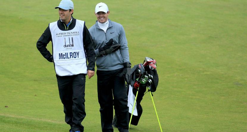 Rory Calls on Best Man To Caddie at WGC, PGA