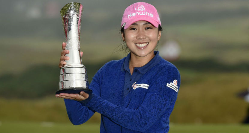 In-Kyung Kim's British Open-winning clubs found at sporting goods store