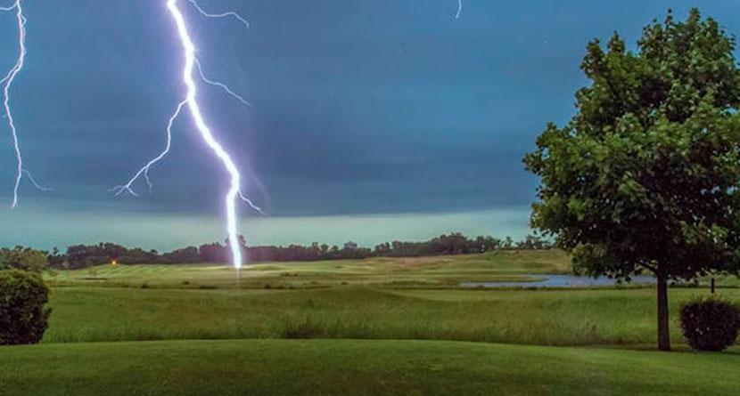 Florida Golfer Struck by Lightning During Round