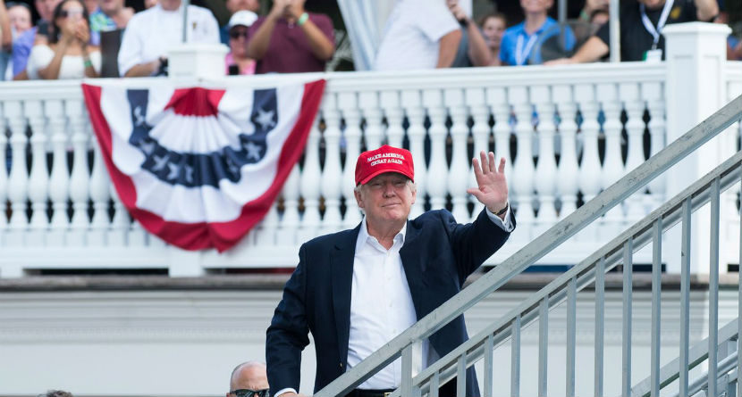 Trump to be Honorary Chairman at Presidents Cup