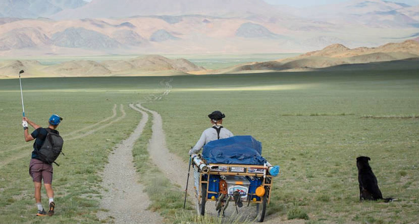 Golfer Plays 1,250 Mile Hole Across Mongolia – Page 2
