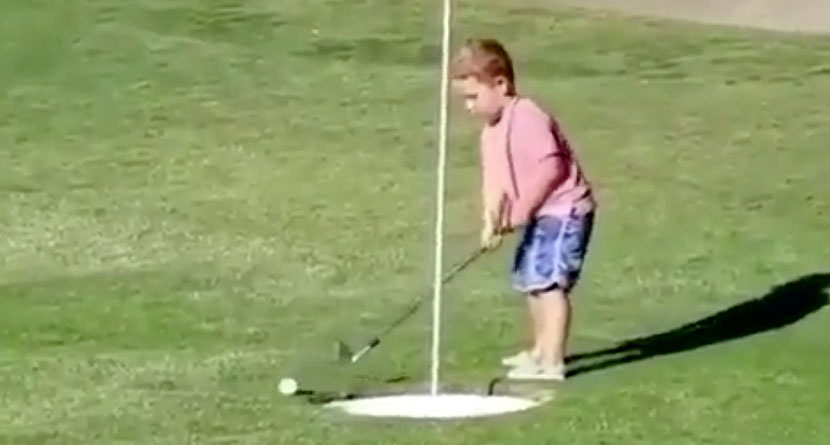 Four-Putt from Two Feet