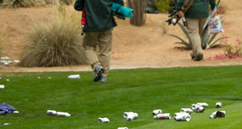 Gun Shots Fired at Course Over Empty Beer Cans