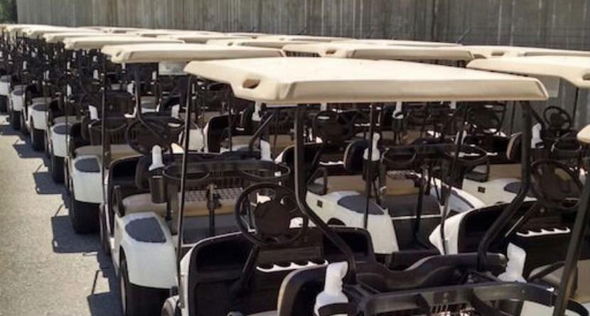 Houston Golf Course Creatively Saves Cart Fleet