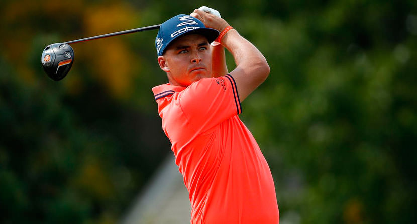 Rickie Hits Awesome Driver Off The Deck at BMW