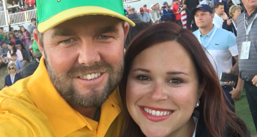 Leishman's Wife Berates U.S. Presidents Cup Fans