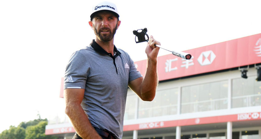 DJ Switches Putter at Last Minute, Shoots 63