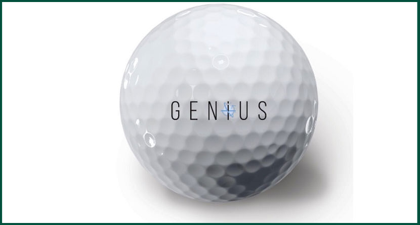 The Genius Golf Ball Can't Be Lost