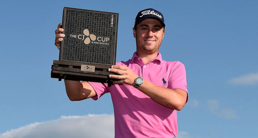 Tools: JT's Winning Clubs at the Inaugural CJ Cup