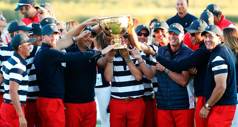 U.S. Dominates, Wins Presidents Cup 19-11