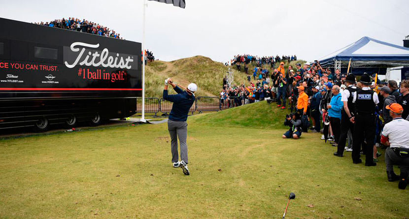 Spieth Gifts Royal Birkdale His Driving Range 3-Iron