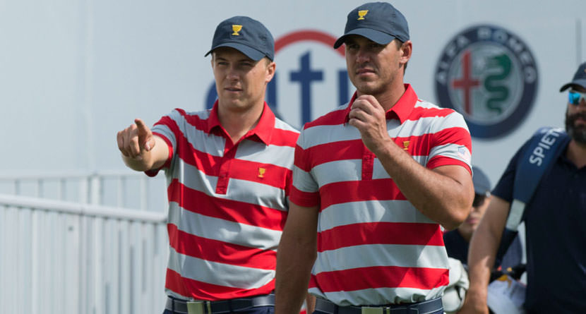 Spieth Rips Brooks Koepka for Fashion Choice