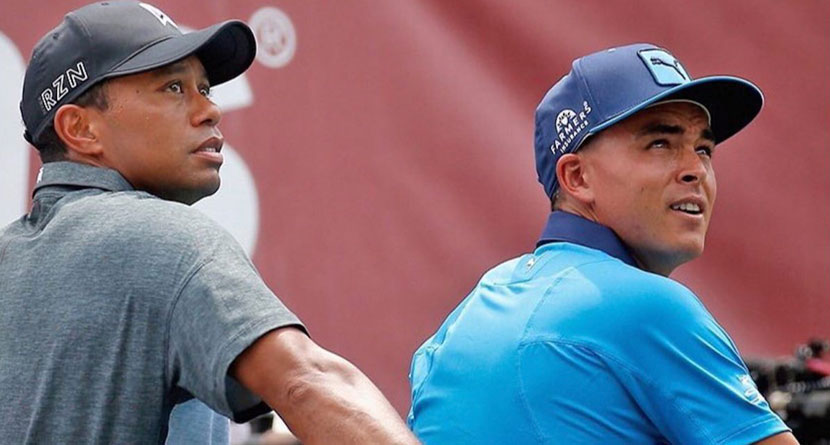 Rickie, JT Give Tiger Hard Time Over Latest Video