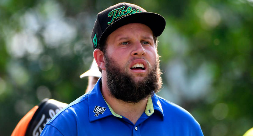 Beef Throws Fairway Wood Into Woods, Misses Cut