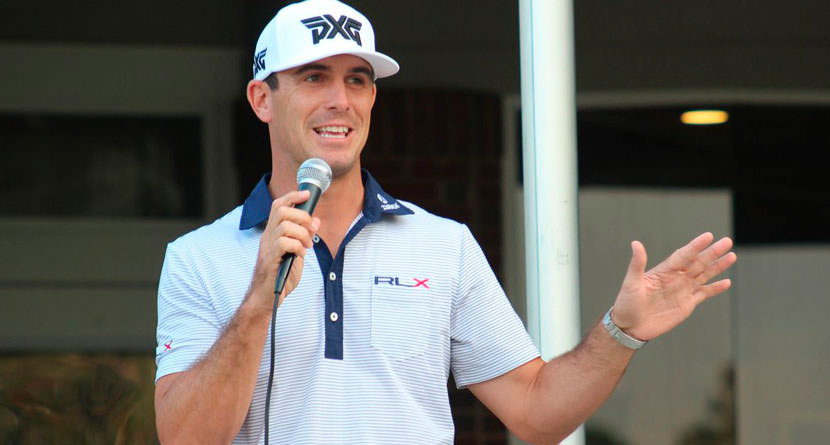 Horschel Calls Out Chamblee on Social Media