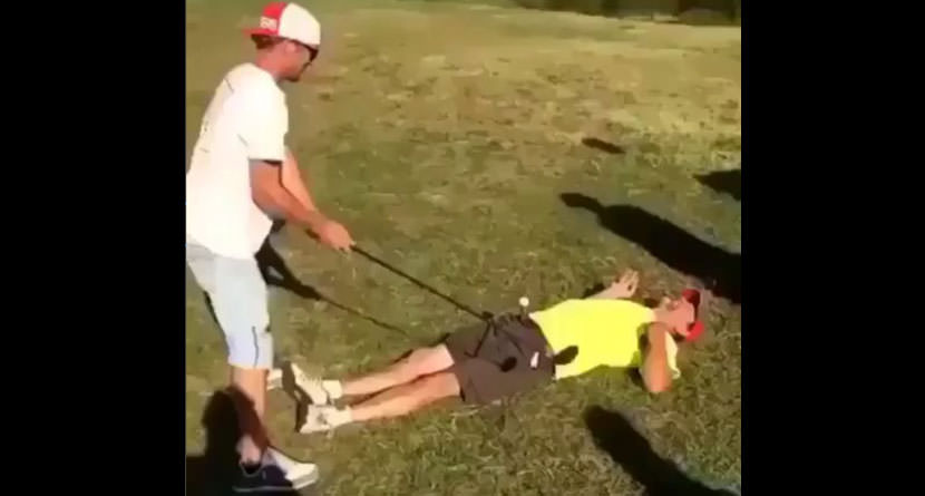 Trick Shot Gone Terribly Wrong