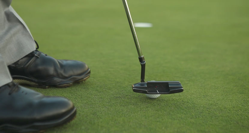 Hover the Putter To Make Downhill Putts