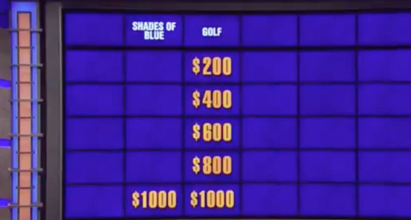 <em>Jeopardy!</em> Golf Clue Gets Dark