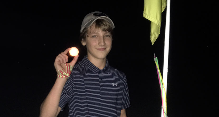 Atlanta Junior Golfer Makes Two Aces at Night