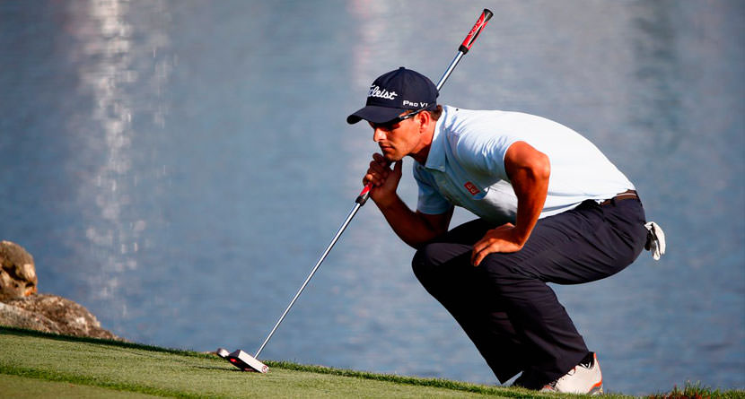Adam Scott Returning Long Putter at Aussie PGA
