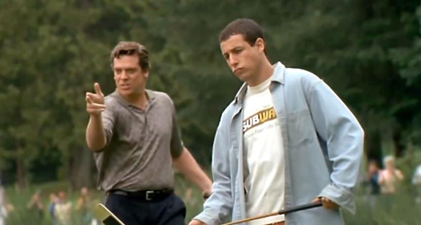 Golf Movie Villain Arrested on Suspicion of DUI