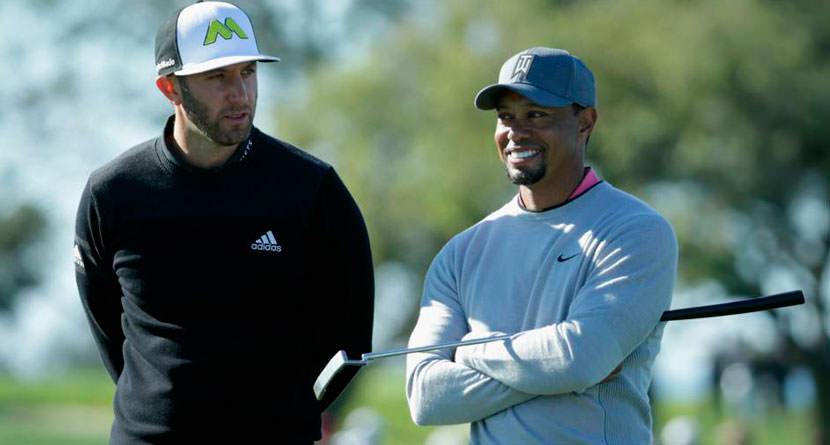 "Faxon: Tiger Hit the Ball Past DJ ""Half The Time"""