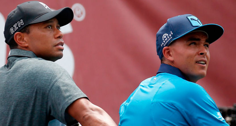 Fowler Says Tiger is Driving the Ball Way By Him