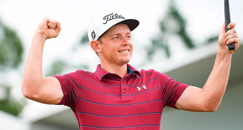 Smith Overcomes Heckler to Win Australian PGA