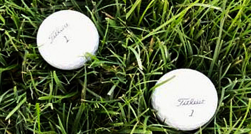 Rules: Properly Identifying Your Golf Ball