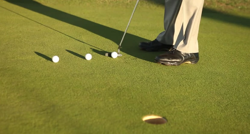 Make More Putts with the Pour, Trickle and Pop Drill