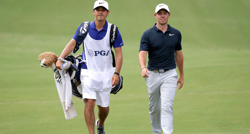 McIlroy to Keep Harry Diamond as Caddie in 2018