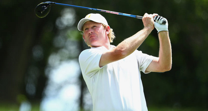 Snedeker's Masters Hail Mary Comes Up Short