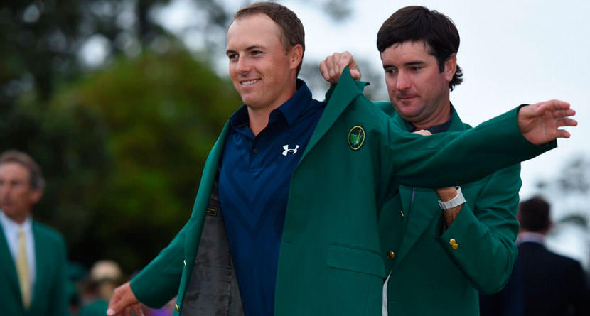 Why Spieth's Masters Green Jacket Doesn't Fit